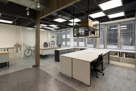 工业风办公室装饰