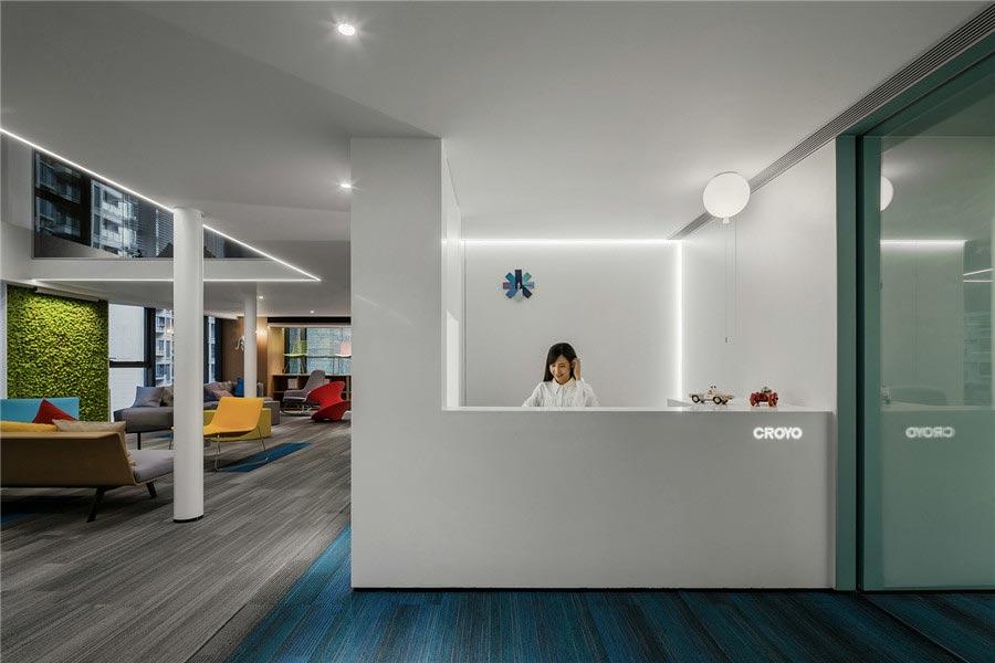 600平办公室装修