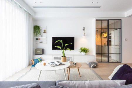 北歐風格設計公寓實景圖展示