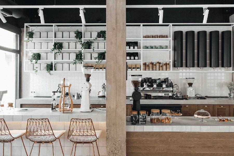 300平咖啡厅装饰