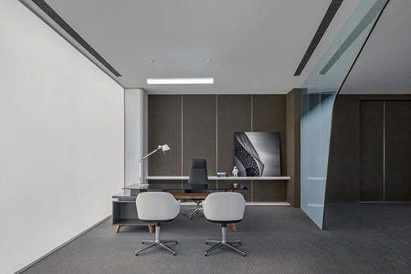 1000平现代风格办公楼装饰