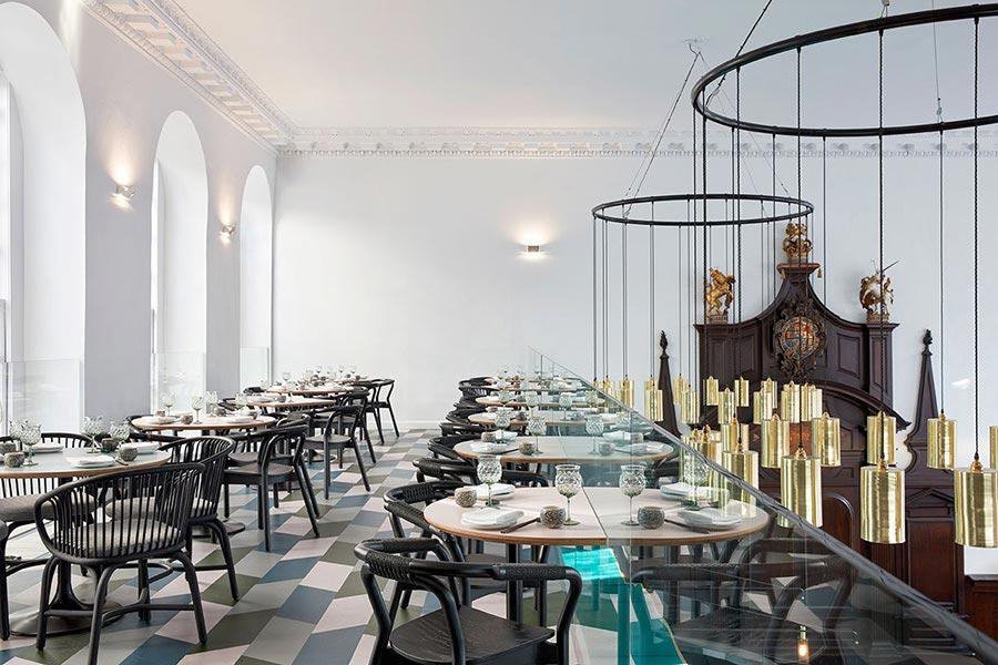 复古风格茶餐厅