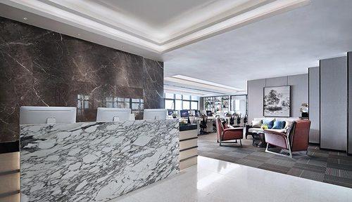 绿地中心800平现代风格办公室