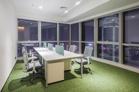 虹桥630平办公楼装饰