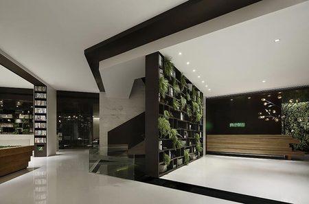 353平现代化办公室装饰