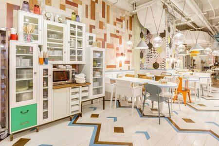 400平简餐店铺装饰
